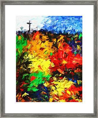 Calvary Hill Framed Print