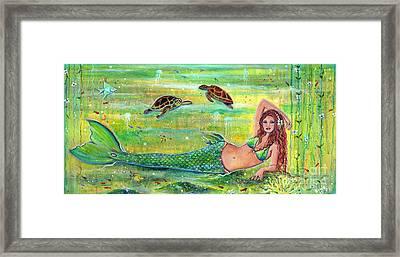 Calypso Framed Print