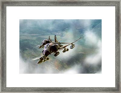 Cam Ranh 2-ship Framed Print by Peter Chilelli