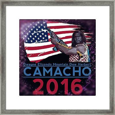 Camacho 2016 Framed Print by Laura Michelle Corbin