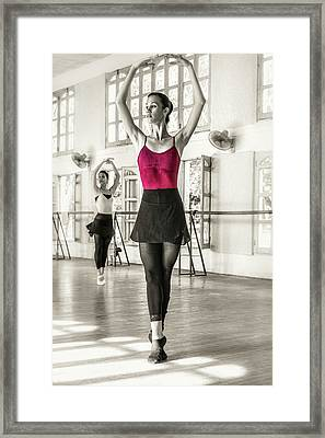 Framed Print featuring the photograph Camaguey Ballet 1 by Lou Novick