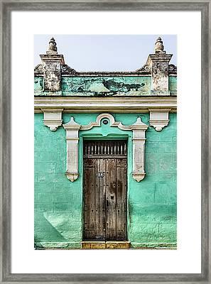 Camaguey Blue Framed Print by Dawn Currie