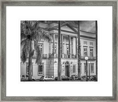 Camara Municipal De Vassouras-rj Framed Print