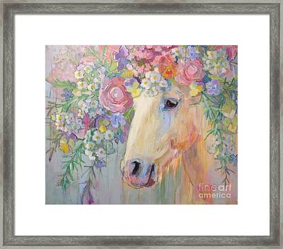 Camargue Peace Framed Print by Kimberly Santini