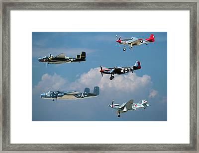 Camarillo Air Show Flyby Framed Print