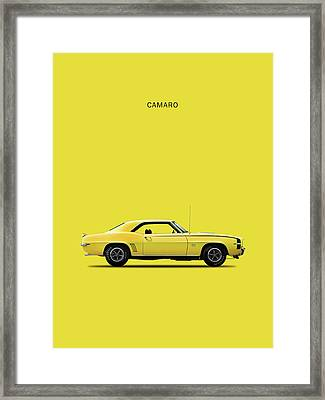 Camaro 69 Framed Print