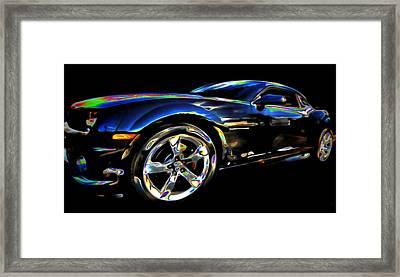 Camaro Framed Print by  Fli Art