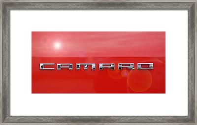 Camaro Framed Print by David and Lynn Keller