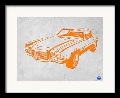 1968 Camaro Framed Prints