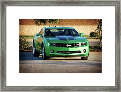 Camaro Origional Framed Print