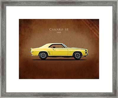 Camaro Ss 396 Framed Print by Mark Rogan