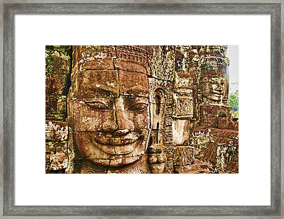 Cambodia Faces  Framed Print by Dennis Cox WorldViews