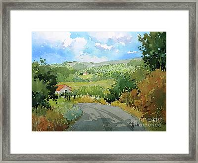 Cambria Countryside Framed Print
