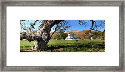 Cambria Farm House Framed Print
