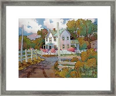 Cambria Farm Framed Print