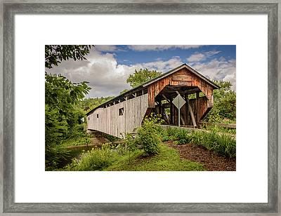 Cambridge Junction Bridge Framed Print