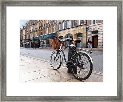 Framed Print featuring the photograph The Wheels Of Justice - Cambridge Magistrates Court by Gill Billington