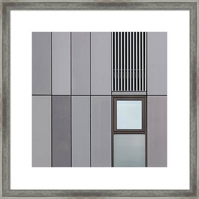 Cambridge Window Framed Print