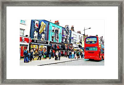 Camden High Street Framed Print by JAMART Photography