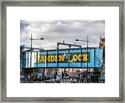 Camden Lock Framed Print