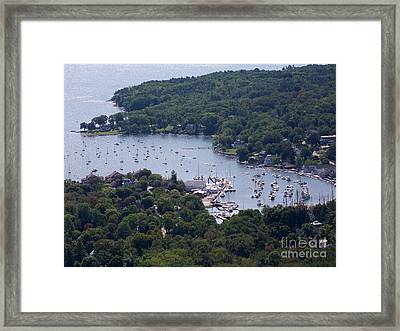 Camden Maine Framed Print by Ursula Lawrence