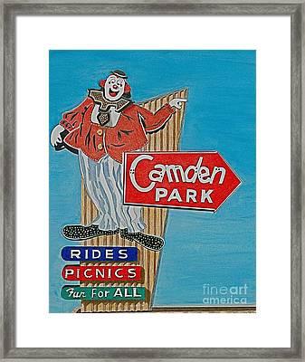 Camden Park Framed Print