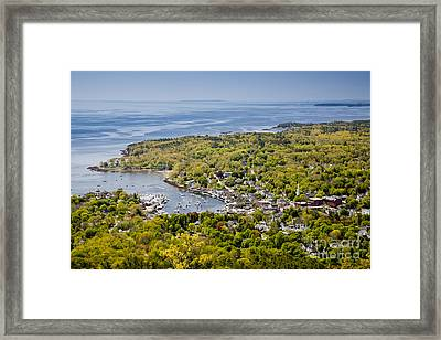 Camden View Framed Print by Susan Cole Kelly