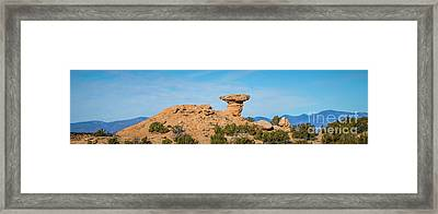 Camel Rock Framed Print by Jon Burch Photography