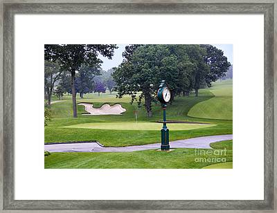 Camel Sand Trap In Medinah Framed Print by Catherine Sherman