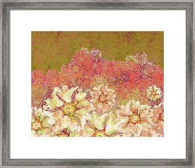 Camellia Hedges Framed Print