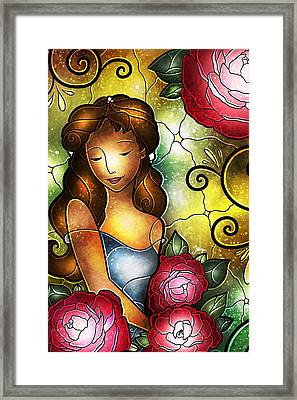 Lady Camellia Framed Print