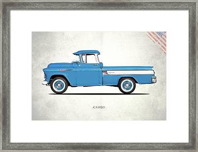 Cameo Pickup 1957 Framed Print