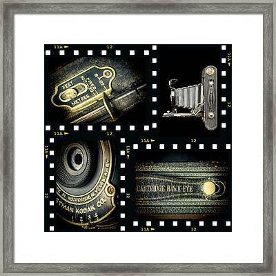 Camera Collage-2 Framed Print by Rudy Umans
