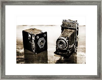 Cameras Framed Print by Thomas Kessler