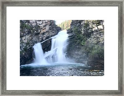 Cameron Falls Framed Print