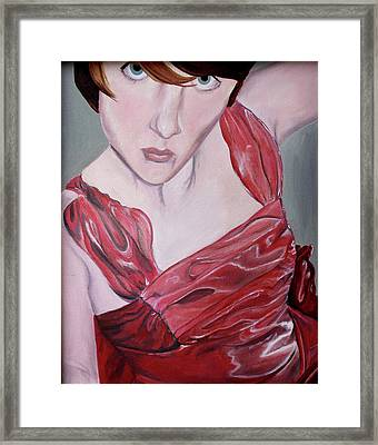 Framed Print featuring the painting Cami by Jane Autry