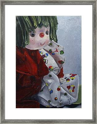 Framed Print featuring the painting Camijocamillecalokado by Jane Autry
