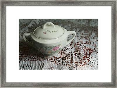 Camilla's Sugar Bowl II Framed Print