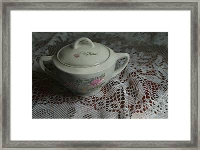 Camilla's Sugar Bowl Framed Print