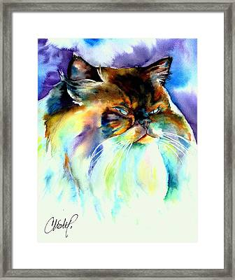 Framed Print featuring the painting Camille by Christy Freeman
