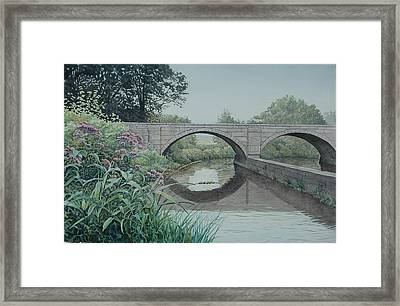 Camillus Canal Framed Print by Stephen Bluto