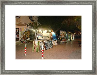 Caminarte Framed Print by Angel Ortiz