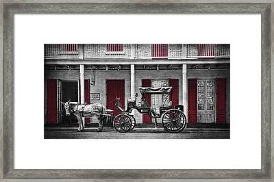 Camino Real Muelle Framed Print by Tammy Wetzel