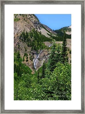 Camp Cascade Framed Print