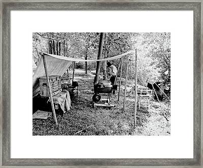 Camp Life Framed Print