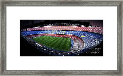 Camp Nou Framed Print