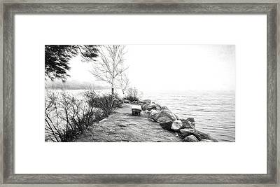 Camp Of The Woods, Ny Framed Print