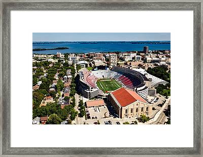 Camp Randall Stadium - University Of Wisconsin Framed Print by Mountain Dreams