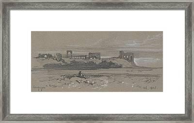 Campagna Di Roma Framed Print