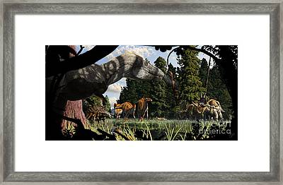 Campanian Montana Landscape Framed Print